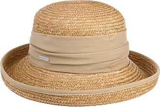 ef262dc32d4 Seeberger Dilara Straw Hat Seeberger women´s hat cuffed hat (One Size -  beige