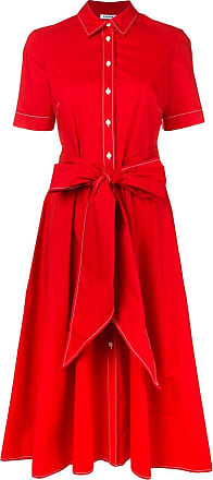 P.A.R.O.S.H. short-sleeve flared midi dress