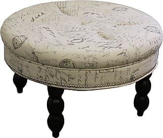 ORE 19.5 Old World Round Signature Ottoman