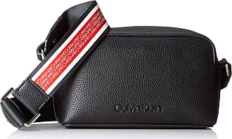 22a09774679584 Calvin Klein Race Crossbody, Womens Cross-Body Bag, Black, 8x20x13 cm (