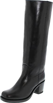 Sendra 12987 Negro Damen Lederstiefel - schwarz