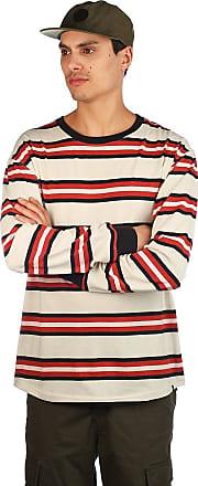 Zine Newbie Stripe Longsleeve T-Shirt red