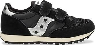Saucony Jazz Original Vintage Hook & Loop Sneaker Big Kid 11.5 M UK Black