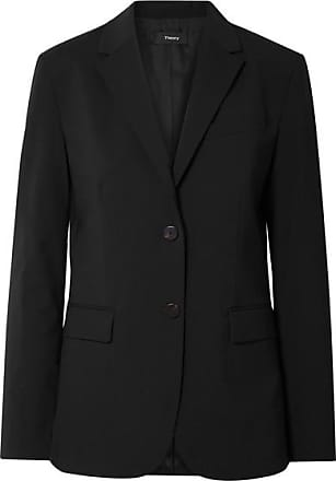 Theory Classic Wool-blend Blazer - Black