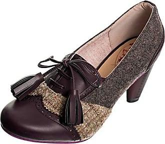 Dancing Days Damen Schuhe Tweed Troddeln Vintage Pumps Mehrfarbig Geschlossen  36 723a3f3dd5