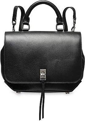 Rebecca Minkoff Rebecca Minkoff Woman Textured-leather Backpack Black Size