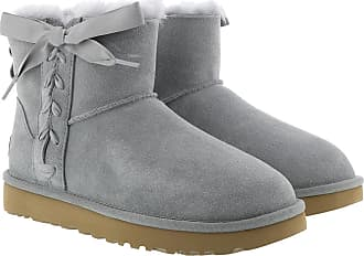 UGG Boots & Booties - W Classic Lace Mini Geyser - grey - Boots & Booties for ladies