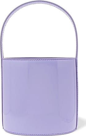 Staud Bissett Patent-leather Bucket Bag - Lavender
