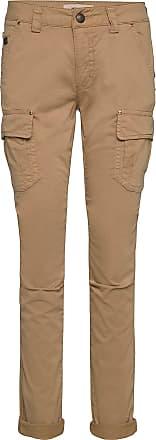 byxor med fickor på sidan dam