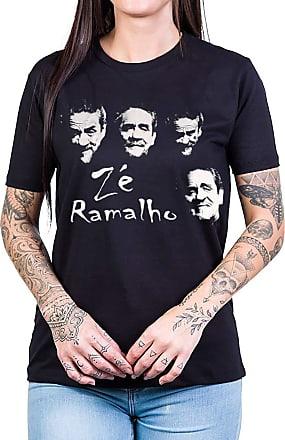 Bandalheira Camiseta Ze Ramalho Faces Gola Redonda