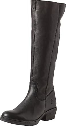 FLY London Womens CHOM340FLY Ankle Riding Boots, Black (Black 000), 2.5 UK (35 EU)