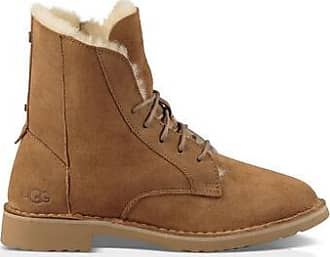 UGG Womens Quincy Boot in Chestnut, Size 3, Shearling