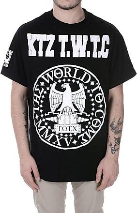 KTZ T-shirt con Stampa Flock taglia Xs 092ececabc2f