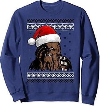 Star Wars Chewie Santa Hat Ugly Christmas Sweater Sweatshirt