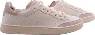 Officine Creative Womens Shoes Sneakers Kareem/101 Ivory Tofu Leather