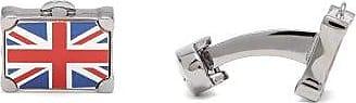 Paul Smith Union Jack Metal Cufflinks - Mens - Silver Multi