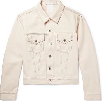 Helmut Lang Denim Trucker Jacket - White