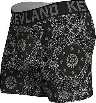 Kevland Underwear CUECA BOXER KEVLAND BANDANA BLACK (1, GG)