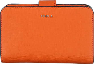 Furla Babylon Medium Compact Wallet Orange