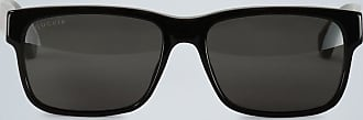 Gucci Sunglasses with rectangular acetate frame
