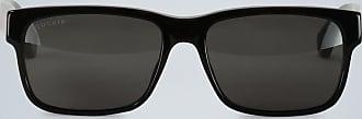 Gucci Rechteckige Sonnenbrille aus Acetat