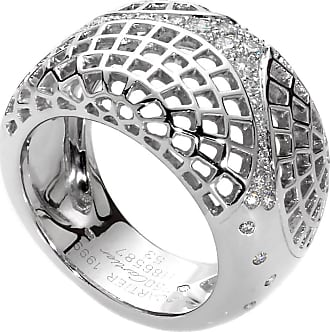 Cartier Paris Diamond White Gold Cocktail Ring