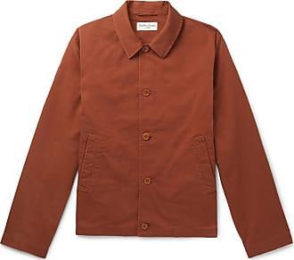 Ymc You Must Create Cotton-blend Twill Jacket - Brick