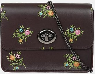 Coach Floral Printed Leather Crossbody Bag size Unica