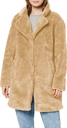 Urban Classics Womens Ladies Oversized Sherpa Coat, Beige (Sand 00208), 4X-Large