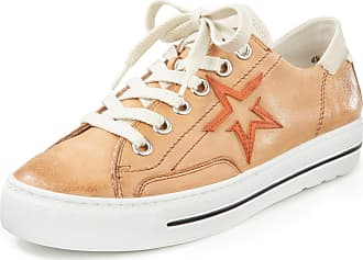 Paul Green Sneakers made of calf nappa leather Paul Green beige