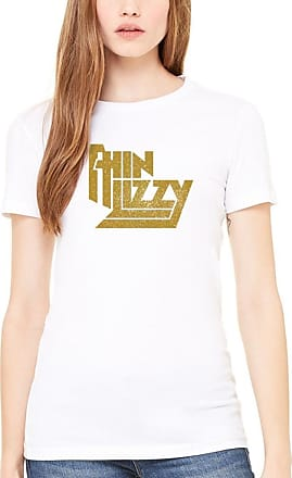 AWDIP Official Thin Lizzy Classic Gold Logo Womens T-Shirt