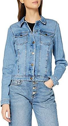ONLY Damen Jeans-Jacke// Übergangsjacke leichten Stretchanteil modernem Look blau