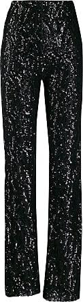 16Arlington Calça pantalona com paetê - Preto