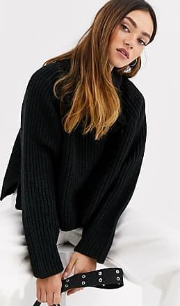 Weekday Cassandra sweater in black