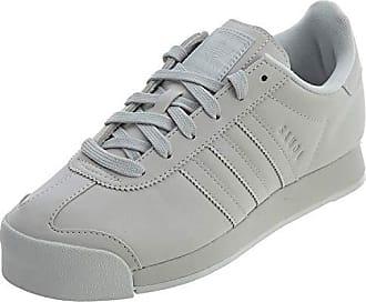 adidas Originals Womens Samoa + W Running Shoe, Grey One/White, 9 Medium US