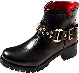 14224a4fbcc67f Buffalo Robuste Bikerstiefelette Leder Boot Damen Schuhe Boots 30612