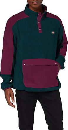 Dickies hoodie//Pullover Felpa chrew Neck bottlegreen