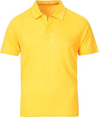 Vilebrequin Jersey Linen Polo Curry