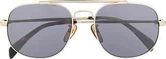 David Beckham Óculos de sol redondo - Cinza