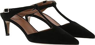 L'autre Chose Pumps - Suede Sling Back Heel Black - black - Pumps for ladies