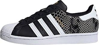 adidas Baskets basses SUPERSTAR W noir / blanc