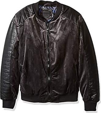 Urban Republic Mens Woven Velvet Jacket, darkcharcoal, S