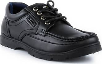 US Brass US Brass Mens Casual Lace Up Shoe in Black - Size 10 - Black