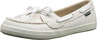 Eastland Womens Skip Boat Shoe, Camel, 6 M US