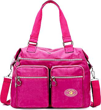GFM Womens Nylon Cross Body Shoulder Bag Handbag (88) (S4-752SB-CRTGLB)