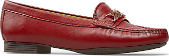Van Dal Womens Barnham X Wide Fit Loafer (Poppy Red, 6.5)