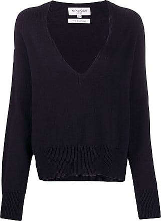 Ymc You Must Create V-neck cotton jumper - Blue