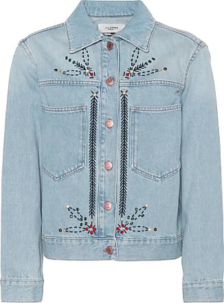 Isabel Marant Cabella embellished denim jacket