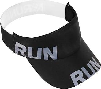 Hupi Viseira para Corrida Hupi Run Preto, Cor: Preto, Tamanho: Único