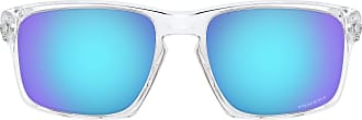 Ray-Ban Oakley Sunglasses - White (Polished Clear / Prizmsapphire) - 57